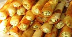 Crispy Homemade Rolls of Lavash Recipe Armenian Recipes, Russian Recipes, Turkish Recipes, Ethnic Recipes, Homemade Egg Rolls, Bread Dough Recipe, Savory Pastry, Appetisers, Food To Make