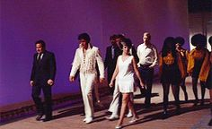 """Opening Night: Making their way to the stage - August 1970 """"That's The Way It Is"""""""