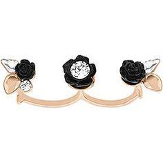 Swarovski Bouquet Double Ring  125 Swarovski Bracelet, Double Ring, Rose  Gold Plates, Jewelry 47ecc7207655