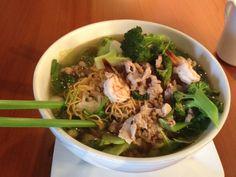 Thai Egg Noodle Soup