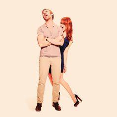Emma Stone & Ryan Gosling. Literally like my two favorite people