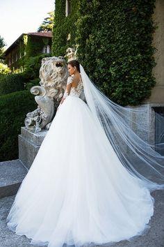 Milla Nova Bridal Wedding Dresses 2017 jersaey / http://www.himisspuff.com/milla-nova-bridal-2017-wedding-dresses/21/