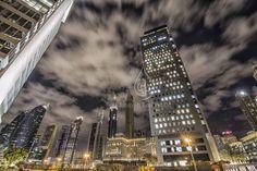 An awe inspiring view of DIFC's skyline   © Copyright 2014 Binayah Real Estate - Dubai