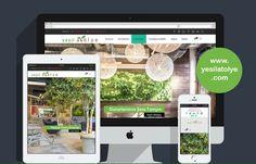 Yaşam alanlarını doğa ile buluşturan, Yeşil Atölye kurumsal resmi sitesi www.yesilatolye.com yayım hayatına başladı.  Detaylı bilgi : http://www.yesilatolye.com