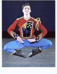 Jacket worn by Price Suddarth performing in the School of American Ballet's production of Stars & Stripes