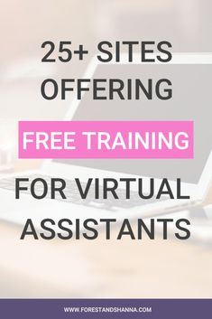 Learning to become a virtual assistant doesn't have to be expensive. To help you get started, here are 25 sites offering free training. Free Courses, Online Courses, Earn Money From Home, How To Make Money, Digital Marketing Plan, Virtual Assistant Services, Online Assistant, La Formation, Free Training