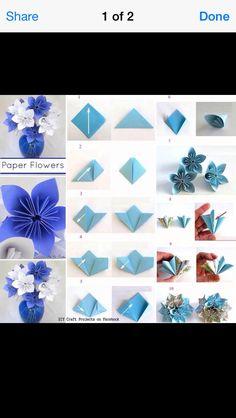 Paper Flowers #Various #Trusper #Tip