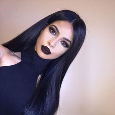 Image about fashion in Lemybeauty by Elizabeth Makeup Tips, Beauty Makeup, Hair Beauty, Makeup Ideas, Dark Makeup, Skin Makeup, Lace Front Wigs, Lace Wigs, Lemy Beauty