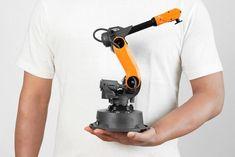 Mirobot: Desktop Robotic Arm with App Control - Arduino - Arduino Cnc, Arduino Robot Arm, Arduino Radio, Arduino Laser, Arduino Sensors, Arduino Motor, Arduino Programming, Arduino Stepper Motor Control, Arduino Remote Control