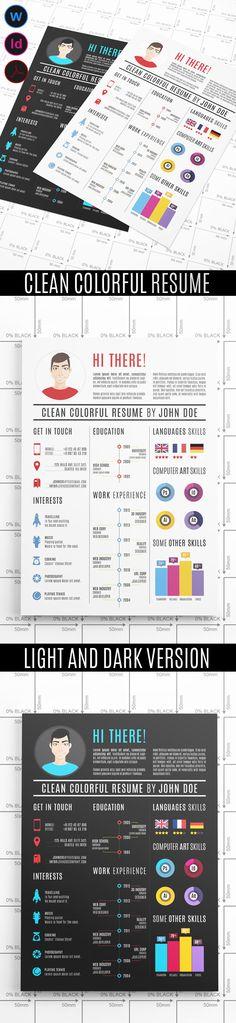 20 Creative Infographic Resume Templates Infographic resume - colorful resume templates