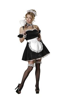 Halloween Costumes For Kids, Adult Costumes, Costumes For Women, Cosplay Costumes, Maid Costumes, Irish Halloween, Halloween 2017, Funny Halloween, Satin Mini Dress