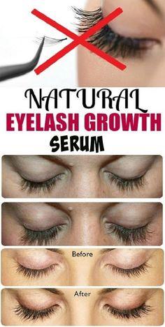 NATURAL eyelash growth seum