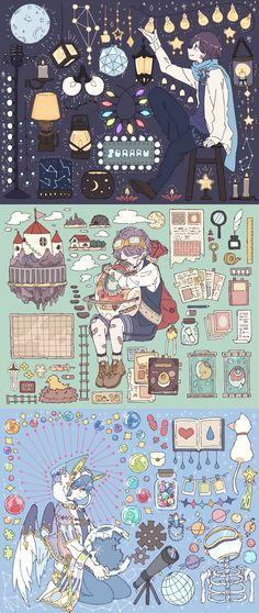 Illustration Art Girl Illustrators Character Design 44 Ideas For 2019 Art And Illustration, Character Illustration, Kunst Inspo, Art Inspo, Character Concept, Character Art, Concept Art, Pretty Art, Cute Art