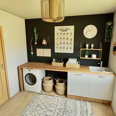 Laundry Room Layouts, Laundry Room Doors, Laundry Room Remodel, Laundry Room Design, Laundry In Bathroom, Utility Room Storage, Laundry Room Organization, Laundry Cabinets, Apartment Makeover