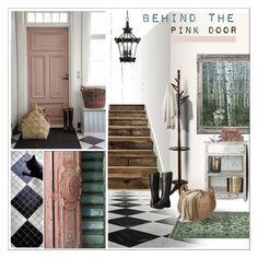 Behind the Pink Door by szaboesz on Polyvore featuring interior, interiors, interior design, home, home decor, interior decorating, NOVICA, Minka-Lavery, Amrapur and Parvez Taj