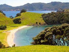 Urupukapuka Island, Bay of Islands on the North Island of New Zealand
