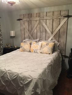 Tête de lit originale