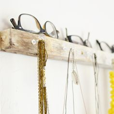 Rustic Modern Jewelry Organization - Make and Takes