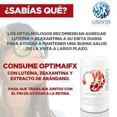 OPTIMA IFX, CUIDA TU VISTA www.florencio.usana.com https://sites.google.com/view/saludylibertad/p%C3%A1gina-principal