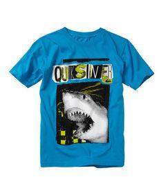Love this Quiksilver Aqua 'Quicksilver' Shark Tee - Toddler & Boys by Quiksilver on #zulily! #zulilyfinds
