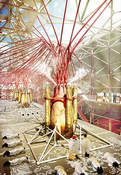 Wesley Soo university : Architectural Association (AA) location : London, UK degree : Diploma Thesis advisor : Tobias Klein [Diploma 1] project title : The Cathedral of Acxiom Entry ...