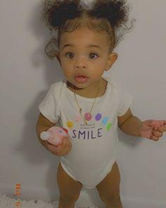 Cute Mixed Babies, Cute Black Babies, Beautiful Black Babies, Cute Little Baby, Pretty Baby, Mix Baby Girl, Cute Baby Girl, Baby Love, Baby Boy Swag
