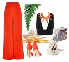 """""""Untitled #2668"""" by doinacrazy ❤ liked on Polyvore featuring Brian Atwood, River Island and Ashlyn'd"""