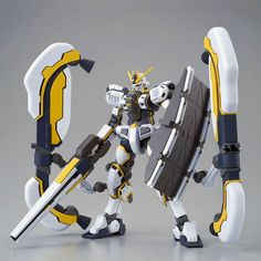 The insanely popular Atlas Gundam from Gundam Thunderbolt is back again, this time as it appears in the Bandit Flower movie! It comes with all new waterslide decals for special markings, a remodeled shield and railgun, and remodeled sub-arms! The color scheme has also been changed to match the animation! **This item is a Premium Bandai Webshop Exclusive; there is no guarantee it will be reissued once it sells out!**