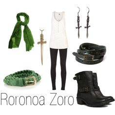 """Roronoa Zoro"" by ja-vy on Polyvore"