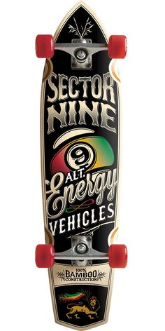 Sector 9 A.E.V. Longboard Skateboard Complete.Sector 9's new A.E.V. board is finally here! It is an amazing downhill deck that is stable yet nimble!