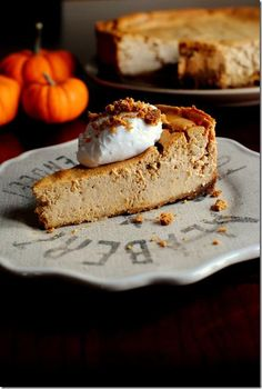 Thanksgiving Recipes : Pumpkin Gingersnap Cheesecake Recipe