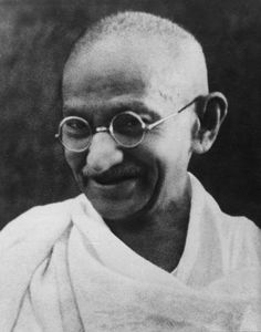 Mahatma Gandhi, the father of the nation, was a left hander