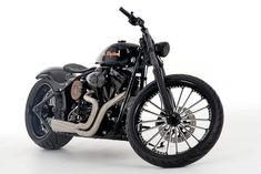 Roland Sands - Johnny Cash bike