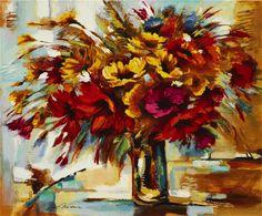 Mix Flowers (2010) by Michael Milkin www.parkwestgallery.com #art #michaelmilkin #parkwestgallery