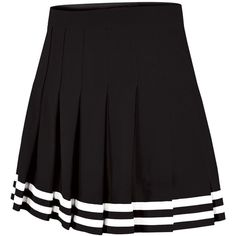 Double-Knit Knife-Pleat Cheer Uniform Skirt Youth Girls Sizes (€1,77) ❤ liked on Polyvore featuring skirts, cheerleader and pleated