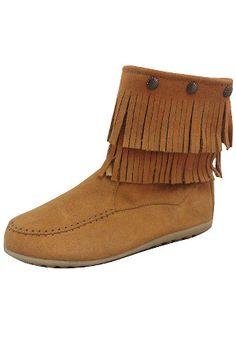 Bucco Footwear - Beyond the Rack  Alawa Short Fringe Boot $39.99  http://www.beyondtherack.com/member/invite/NAC41086F5B