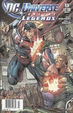 DC Universe Online Legends comic issue 13