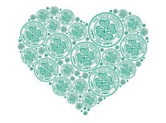Happy Valentine's Day from everyone at Celtic Football Club. Repin and comment to let us know what you're doing this valentine's.