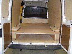 van shelving - Google Search