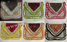 Crafts Of Gujarat is a Crafts Store in Ahmedabad offering Indian Handmade Handicraft Products, Vintage kantha Collection, intage Tribal Indian Costume jewelry. Kutch Work, Fringe Fashion, Hand Work Embroidery, Designer Clutch, Ibiza Fashion, Boho Bags, Purse Styles, Clutch Purse, Handmade Crafts