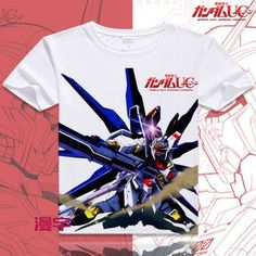 Gundam Short Sleeve Anime T-Shirt V14