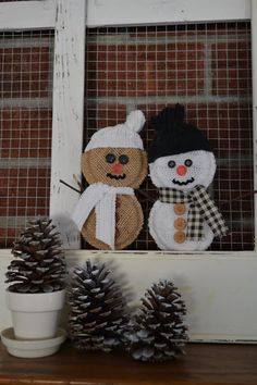 Thrift My House: Shower Ring Snowmen Tutorial