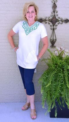 50 IS NOT OLD   REMEMBERING THRILL HILL   Tunic Top   Fashion over 40 for the everyday woman