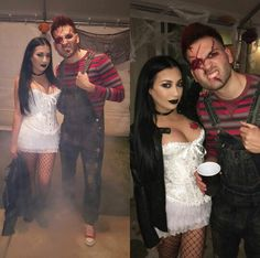 Chucky and Tiffany costume