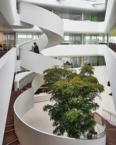 "236 curtidas, 5 comentários - ARCHITECTURE HUNTER (@architecture_hunter) no Instagram: ""#architecture_hunter Highly-energy Efficient Office for Vreugdenhil Architects: Maas Architecten…"""