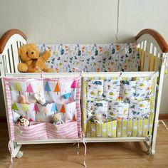 Nappy Bags Baby Bedding Storage Bag Mother Care Diaper Bags Toddler Baby Bed Organizer Toys Pouch organizador bolsa luiertas