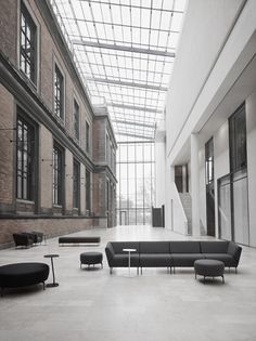 The National Gallery of Denmark, Copenhagen. The architects have done an excellent job, combining the old building with new architecture.