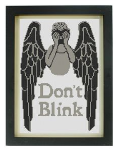 Don't Blink Cross-Stitch Pattern. #DoctorWho
