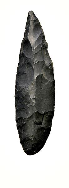 Some early stone tools have been found in Swaziland dating back to around 100-200 thousand years ago.