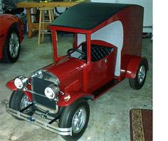 Electric pedal car